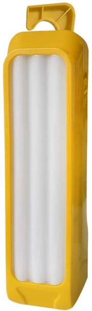 24 ENERGY 3 Long Tube with 42 Hi-Bright LED Rechargeable Yellow Plastic Table Lantern