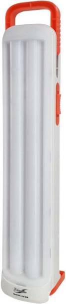 24 ENERGY 2 Long Tube with 60 LED Rechargeable White, Orange Plastic Table Lantern
