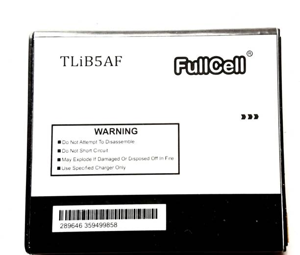 FullCell Mobile Battery For  Alcatel OneTouch TCL S800, One Touch 997D, OT-997D, Smart OT-5035 X POP C5 TLiB5AF
