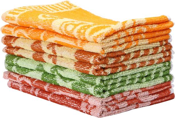 Gayatri Textiles Kitchen Dinner Table and Face Wash_001 Multicolor Napkins