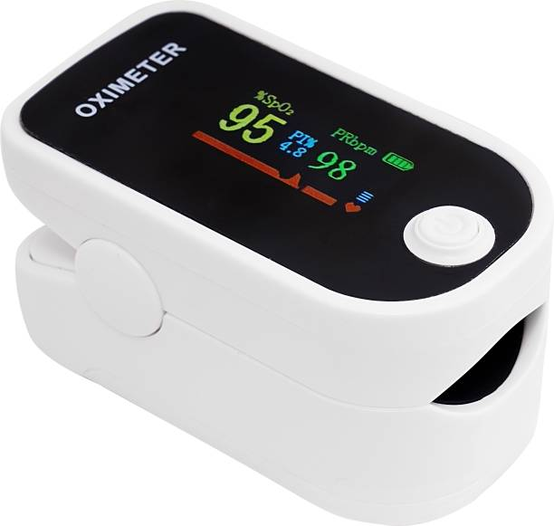 Tushti Finger Pulse SpO2 & Heart Rate Smart Auto Shutdown Pulse Oximeter Pulse Oximeter