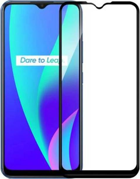 EASYBIZZ Edge To Edge Tempered Glass for Realme C12
