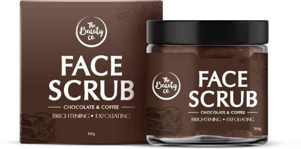 The Beauty Co. Chocolate Coffee Face Scrub��(100 g) | Made in India Scrub