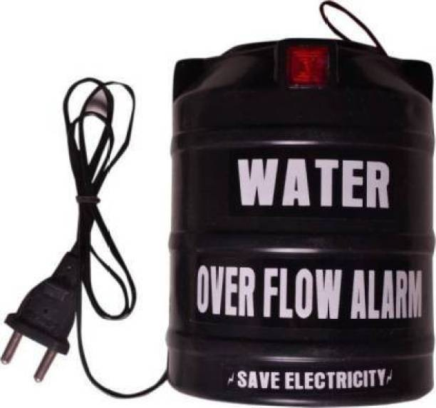 Legion Black Water Tank Overflow Alarm with High Quality Overflow Voice Sound (Made in India) Wired Wired Sensor Security System