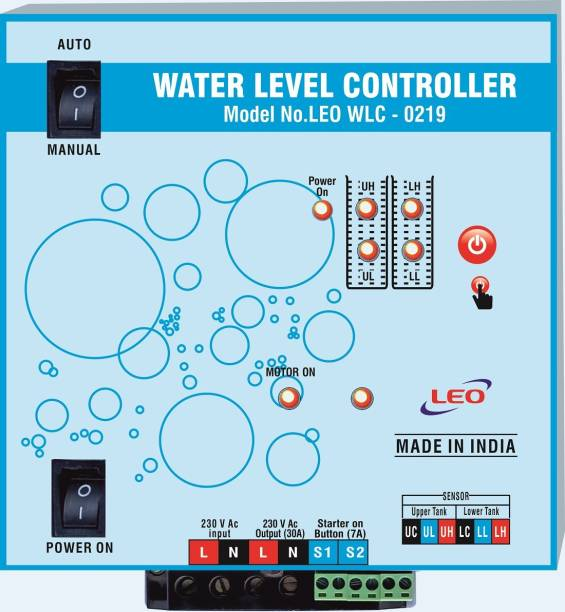 Leo WATER LEVEL CONTROLLER WITH FLOAT Wired Sensor Security System