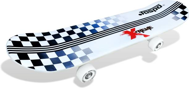Jaspo Hurricane Lite Skateboard Suitable for Age Group Above 10 Years 26 inch x 6 inch Skateboard