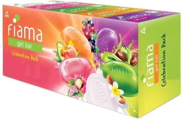 FIAMA Celebration gel bar soap ( 5 gel bar)