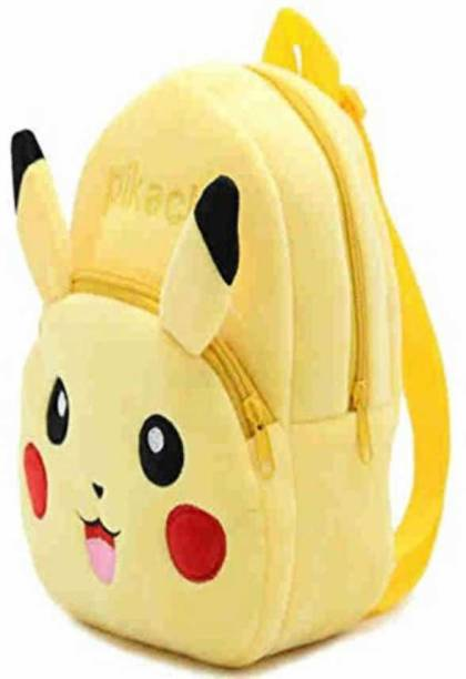 Clinch Soft Material School Bag For Kids Plush Backpack Cartoon Toy | Children's Gifts Boy/Girl/Baby 10 L Backpack (Yellow)  - 30 cm