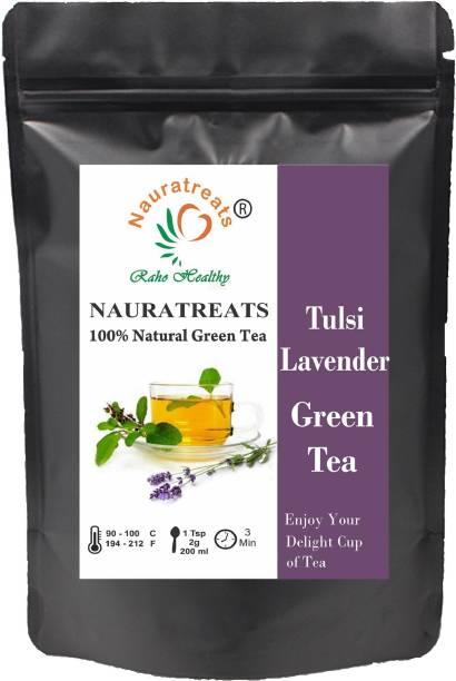 Nauratreats Tulsi Lavender Green Tea Tulsi, Lavender Green Tea Pouch