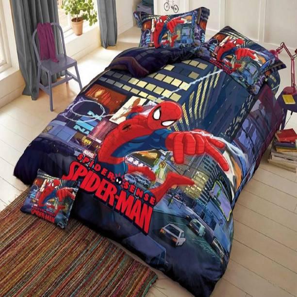 Duffers 152 TC Cotton Double Cartoon Bedsheet