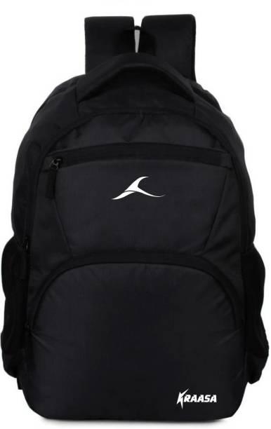 Kraasa Black Zipper 35 L Backpack