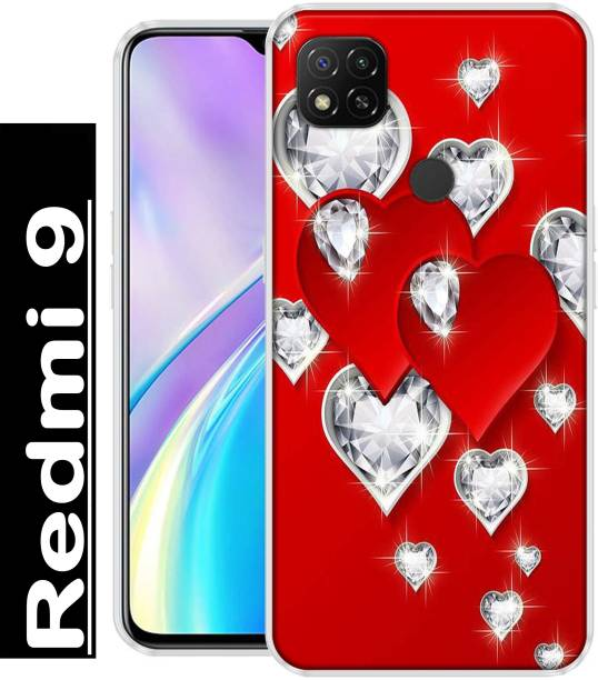 REALKING Back Cover for Redmi 9