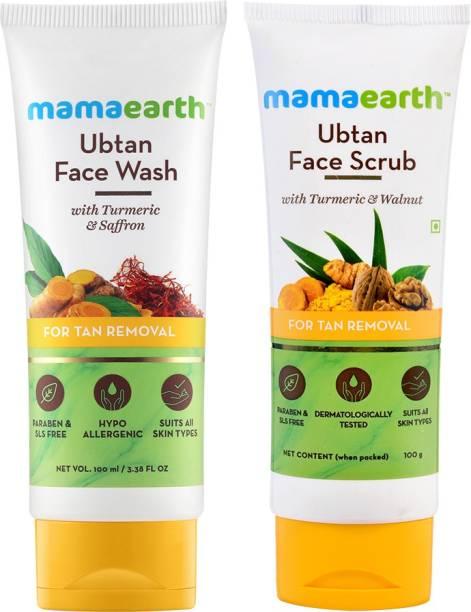 MamaEarth Tan Removal Combo Face Wash