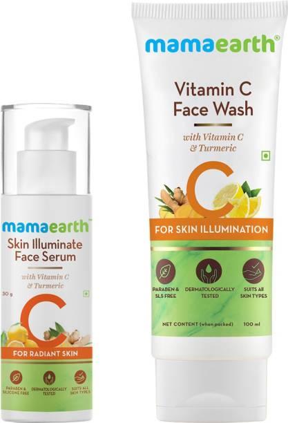 MamaEarth Vitamin C Radiance Combo Face Wash