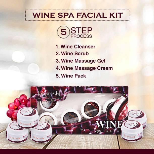 Aryanveda Herbals Wine Spa Facial Kit