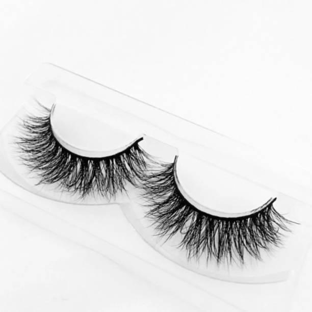 Be Fab Soft Natural Black Thick Long False Eyelashes Makeup Extension