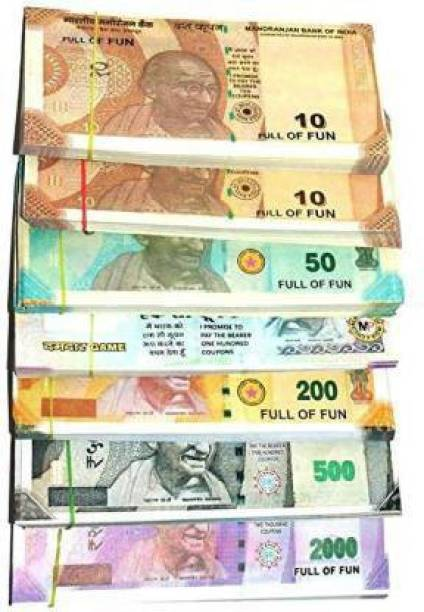 LIYANCE INDIAN FAKE DUMMY NOTES FOR KIDS. MONEY Gag Toy