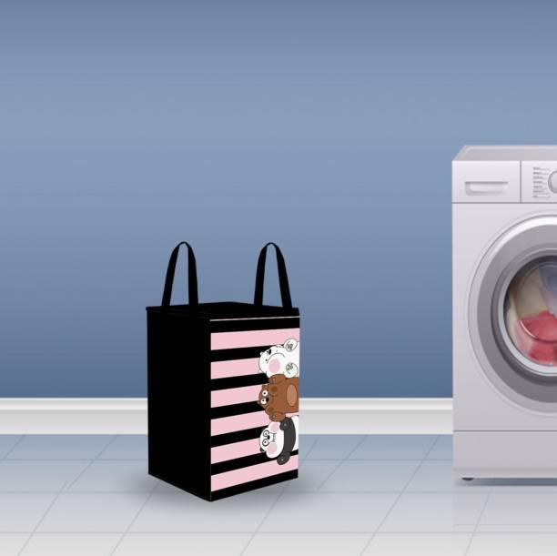 Flipkart SmartBuy 35 L Multicolor Laundry Basket
