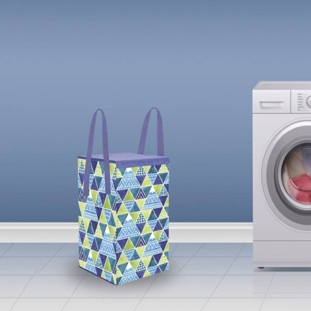 Flipkart SmartBuy 35 L Blue Laundry Basket
