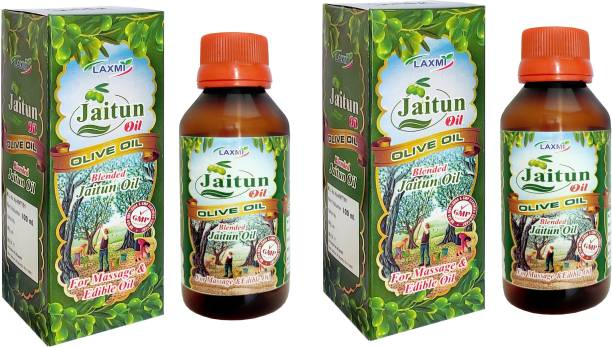Laxmi JAITUN TAIL (Olive oil)- Moisturizes Skin, Fights Signs Of Aging, Improves Skin Health, Helps Remove Makeup Makeup Remover