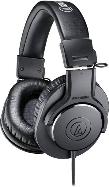 Audio Technica ATH M20X Wired without Mic Headset