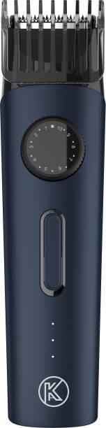 KUBRA KB-8000 Cordless Fast Charging IPX6 Waterproof Slim Beard & Moustache Trimmer For Men  Runtime: 90 min Trimmer for Men