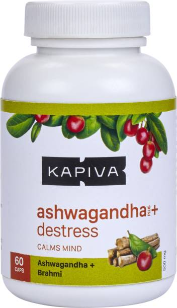 Kapiva Ashwagandha + Destress Capsules