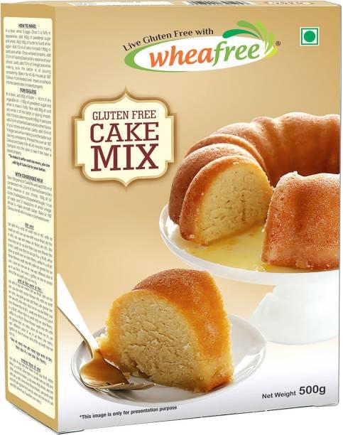 wheafree Gluten Free Cake Mix - Pack of 2 (500gm each) Self Rising Flour Powder