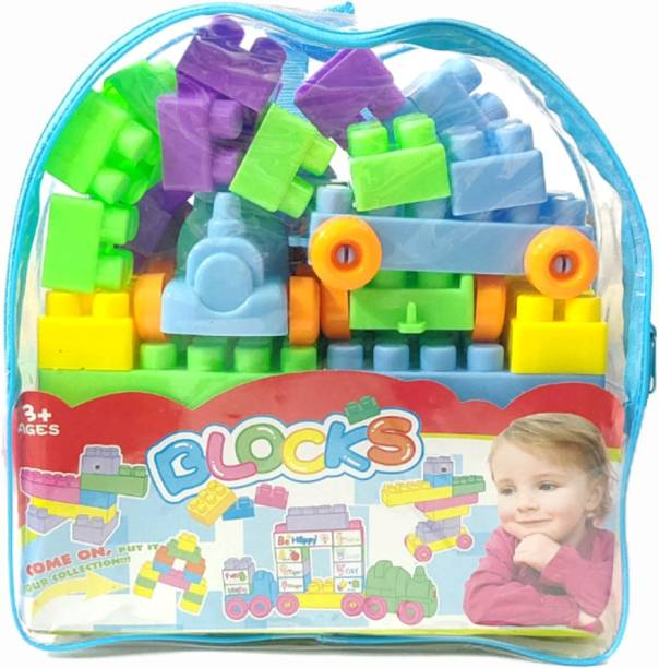 ClueSteps Puzzle Blocks Building Blocks Children Grow up with Good Partner Put It Your Collection