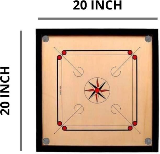 Alexus 20 inch carrom board Carrom Board Board Game