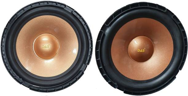 DAB 8 inch Golden Colored Pair 9017 Magnet 2 pieces Subwoofer