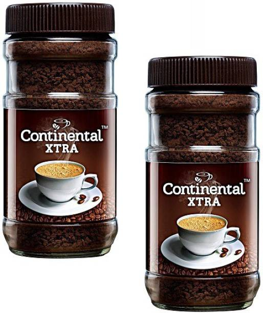 CONTINENTAL Coffee Xtra Instant Coffee Powder, 200 g Jar (Pack of 2) Instant Coffee