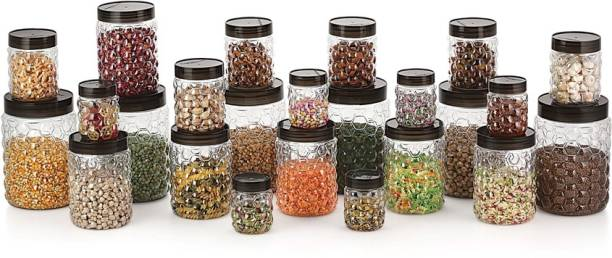 MASTER COOK BUBBLE JARS  - 27300 ml Plastic Grocery Container