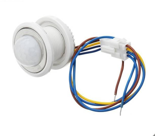 Smartomatic Small Infrared (PIR) Motion Sensor with Adjustment 3 A Motion Sensor Electrical Switch