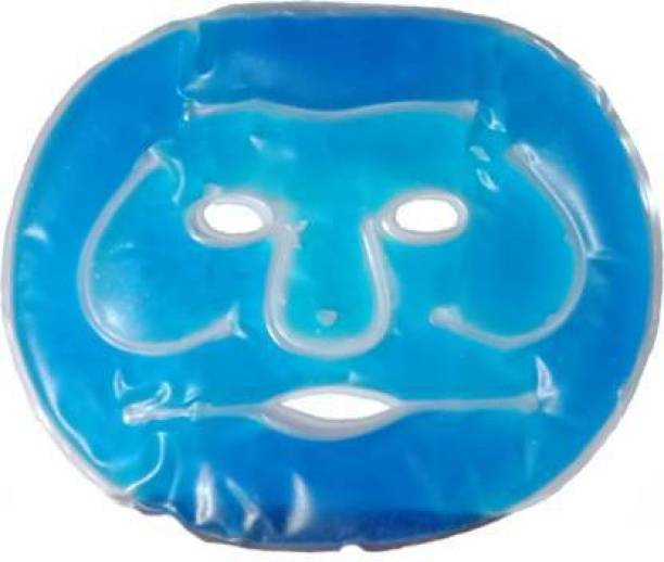 infinitydeal Hot Cold Gel Facial Mask for Beauty Face Shaping Mask(BLUE)  Face Shaping Mask