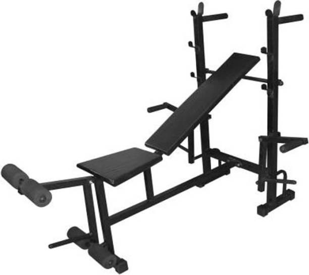 Mahadev Sports 8 in 1 Multipurpose Fitness Bench