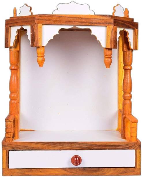 Hydroshell Plywood Mandir Pooja Room Home Decor Office Engineered Wood Home Temple