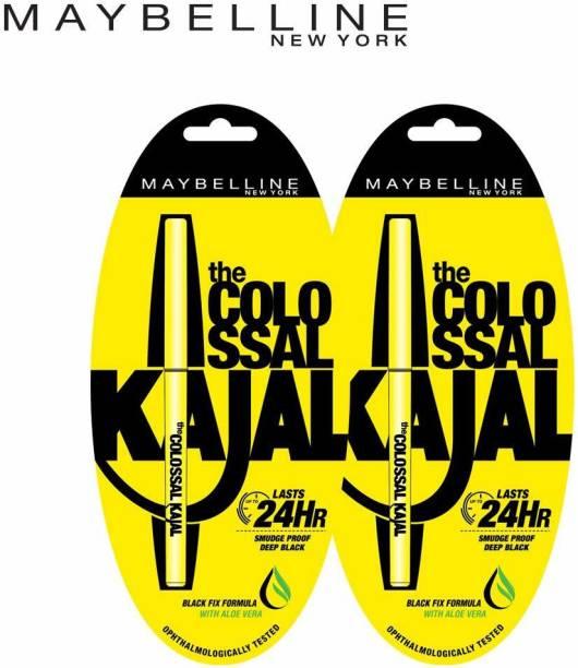 Maybeline New York Colossal Kajal (Pack of 2)