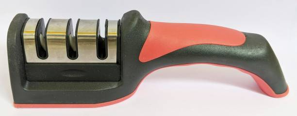 Klia 3 Slot 3 Stage Manual Knife Sharpener Steel for Kitchen Knives, Knife Sharpening Machine , Very fine Sharpness Knife Sharpening Steel