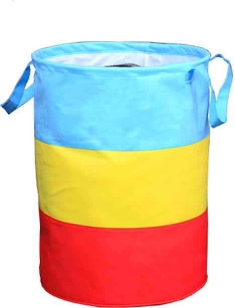 JustandKrafts 45 L Multicolor Laundry Bag