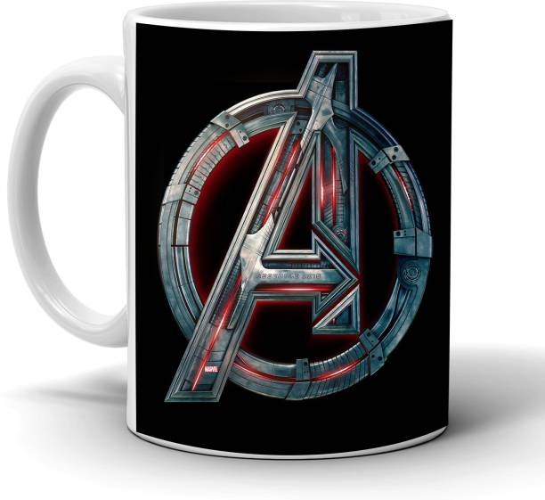 Just Moments Premium Quality Ceramic Coffee for Avengers | Marvel Lovers, Printed on Both The Sides. (JM33) Ceramic Coffee Mug