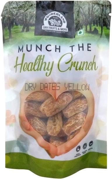 WONDERLAND Healthy Crunch Yellow Dry Dates