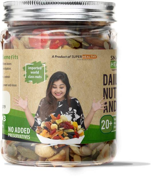 Super Healthy Nuts, Seeds and Berries | Healthy and Nutritious Snacks |20+ varieties|