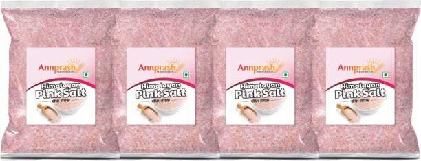 ANNPRASH PREMIUM HIMALAYAN PINK SALT/ SENDHA NAMAK 4000GM (1000GMx4) Himalayan Pink Salt