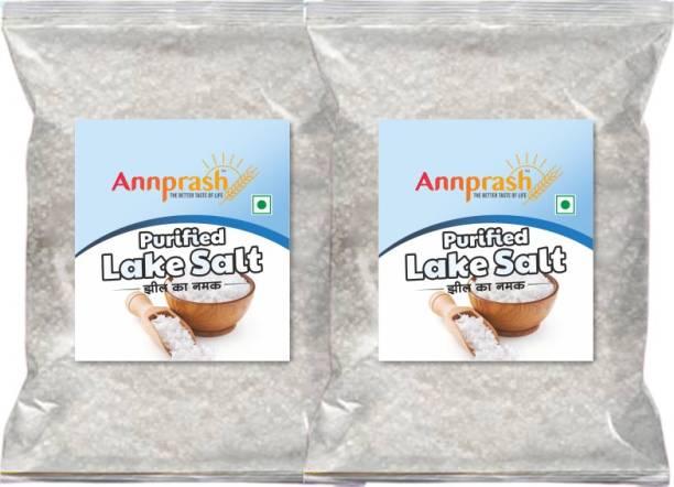 ANNPRASH PREMIUM LAKESALT IODIZED SALT 2000GM (1000GMx2) Iodized Salt