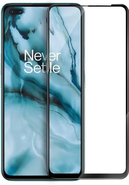 Flipkart SmartBuy Edge To Edge Tempered Glass for OnePlus Nord, Realme X7