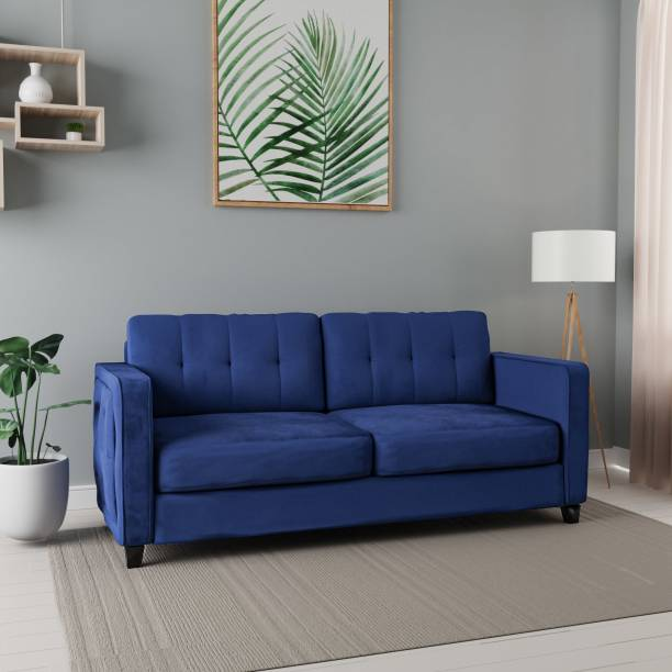 Flipkart Perfect Homes Ripley Fabric 3 Seater  Sofa