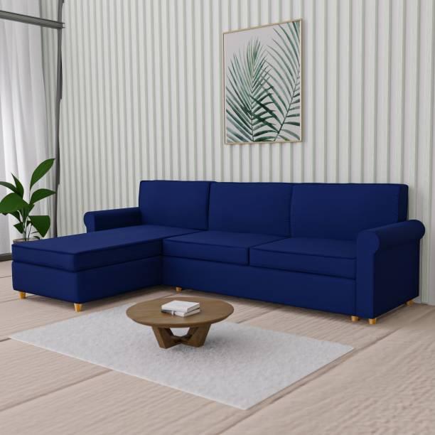 Flipkart Perfect Homes Ripley Fabric 5 Seater  Sofa