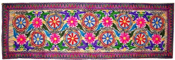 Instalifeglobal Multicolor 151 cm Table Runner