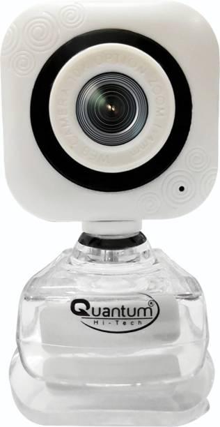 Quantum Hi-Tech HIGH QUALITY WEBCAM FOR WORK FROM HOME  Webcam